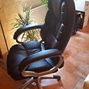 Chaise de Bureau Songmics OBG24B 1