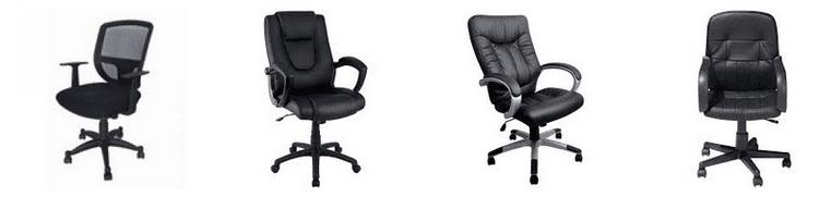 chaise de bureau comparatif