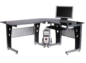 Bureau gamer comparatif des meilleurs bureaux gaming - Meuble informatique en verre ...